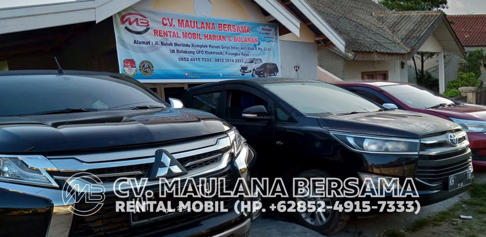 <span>Maulana Rent Car</span> Palangka Raya